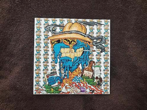 Vincent Gordon - Melted Gonzo Blotter Art
