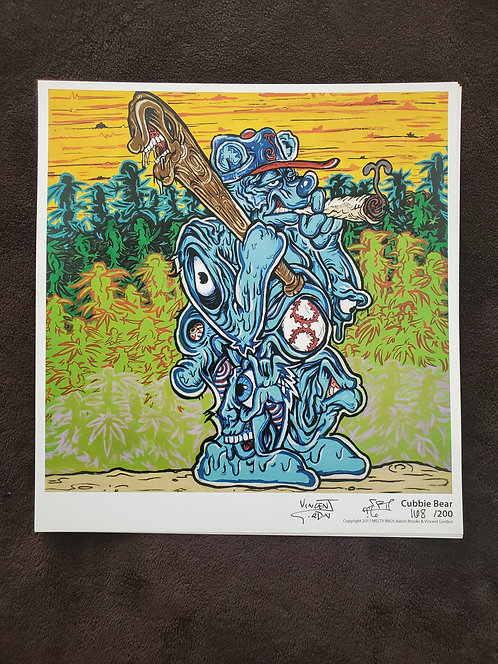 Vincent Gordon x Arron Brooks - Cubbie Bear Print