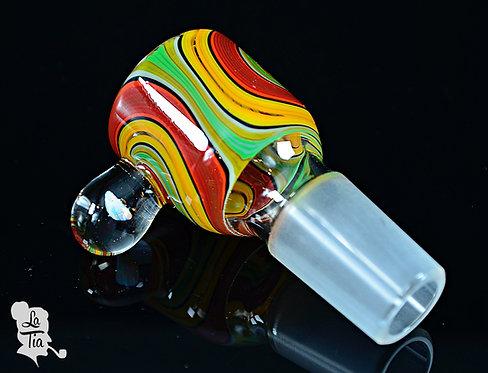 2K Glass Art - 18mm Slide #7
