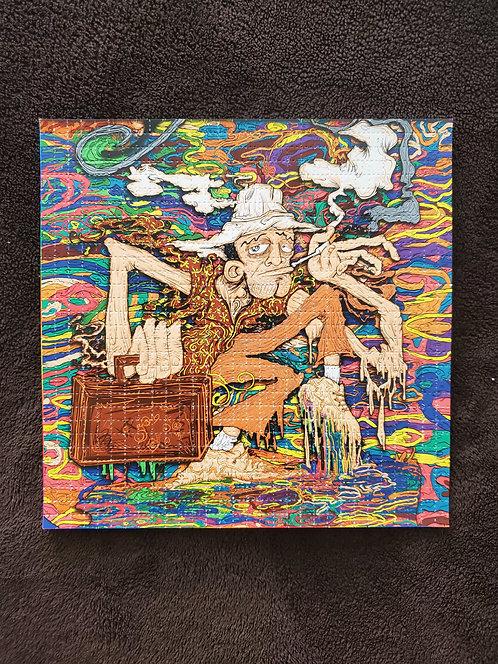 Vincent Gordon -  Gonzo Goin Gonzo Blotter Art