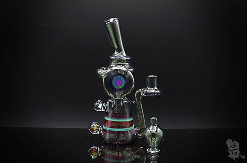Minquez Glass - CFL Potion Disc Recycler w/ Matching Cap