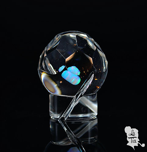 OTP- Faceted Opal Center Spinner Cap #1
