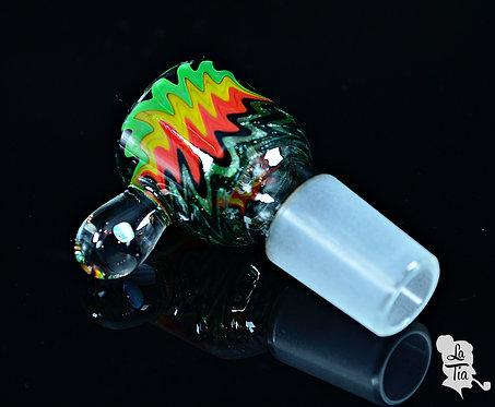 2K Glass Art - 18mm Slide #5