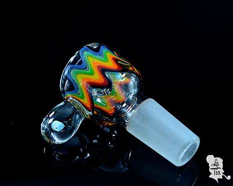2K Glass Art - 14mm Slide #7