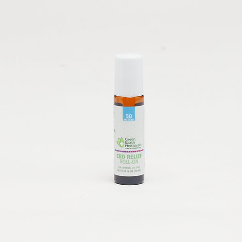 Relief Roll on by Green Earth Medicinals - .33 oz (50mg CBD)