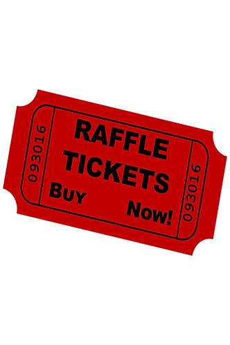 Raffle Fundraiser Ticket