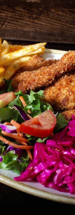 Chicken Cream Chop Plate