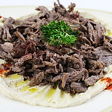 Hummus n' Beef Shawarma