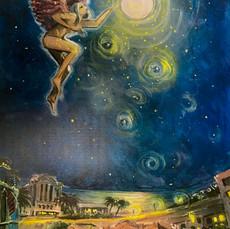 Angel over St Kilda (Wiindows to Dream Worlds)