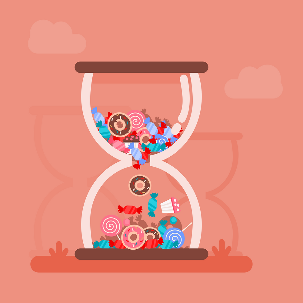 Delayed Gratification Vector Art