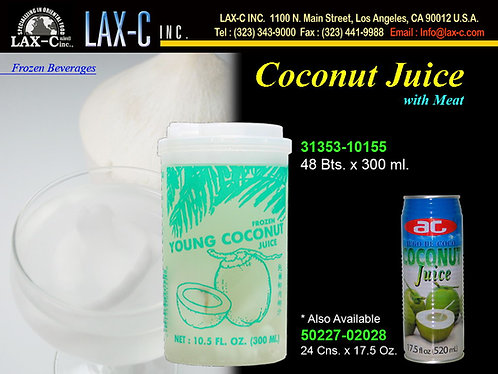 Frozen Coconut Juice 48X10.5