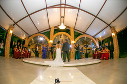sistema de som na cerimonia