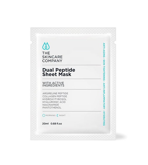 Dual Peptide Sheet Mask - 3 pack