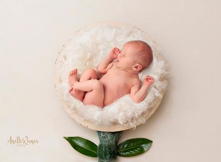 Modell i studio for å teste Newborn ART