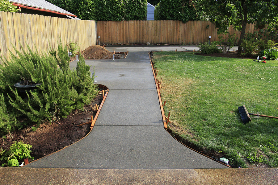 Skidmore Backyard