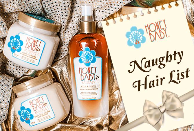 Honey Baby's Naughty Hair List