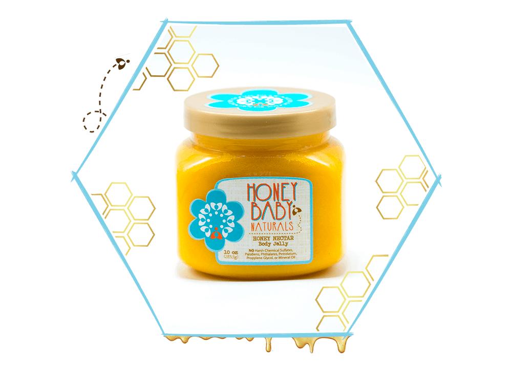 honey baby naturals body jelly