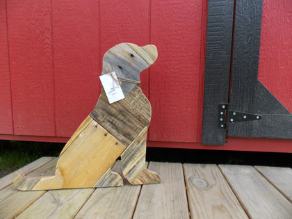 Wooden Dog from Pallet Wood