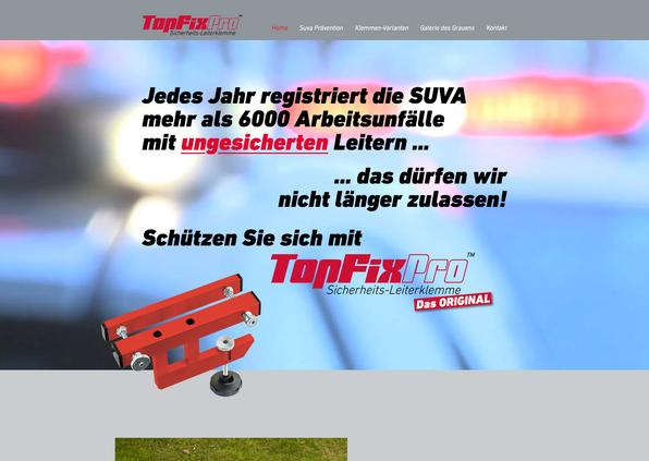 TopFixPro Produktseite