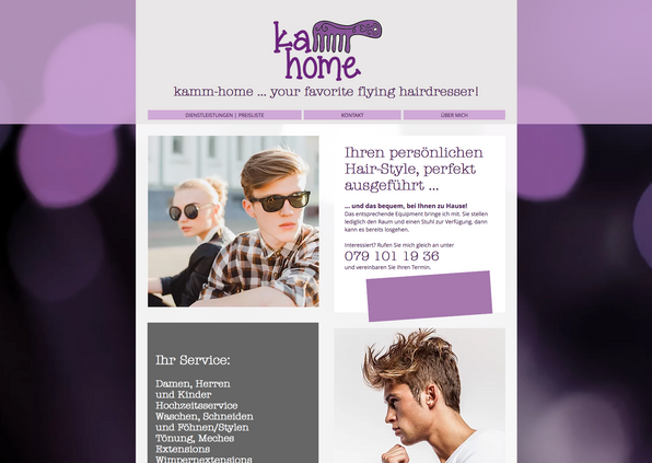 Kamm-Home Hairstyle