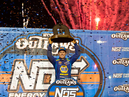 Brad Sweet Earns 2020 World of Outlaws Championship