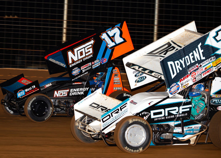 Sheldon Haudenschild, World of Outlaws, Stenhouse Jr Marshall Racing