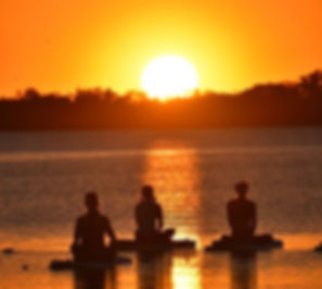 Another gorgeous sunset Yoga tonight! Th