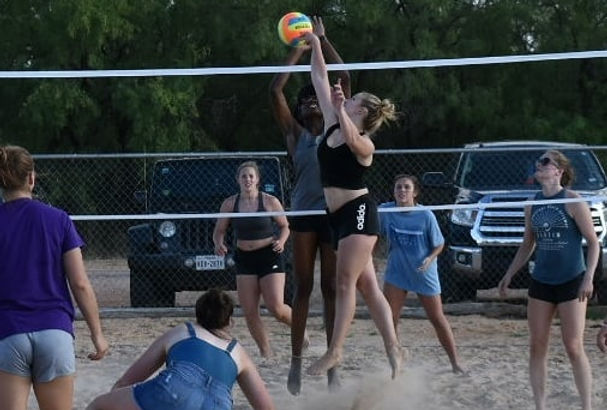 Sand Volleyball Outdoor Fun Things To Do