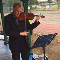 Violins in the park