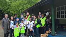 Northampton Inter Faith Forum sponsored walk
