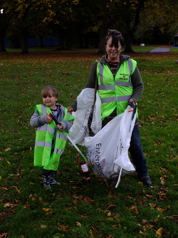 Young litter picker!
