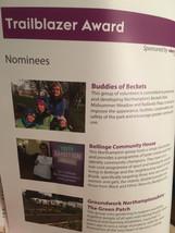 Nomination for the trailblazer award