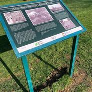 Interpretation board - Middy Meadow swimming pool