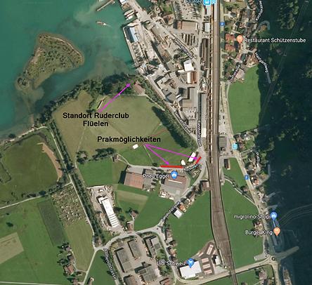 Standort Ruderclub Flüelen