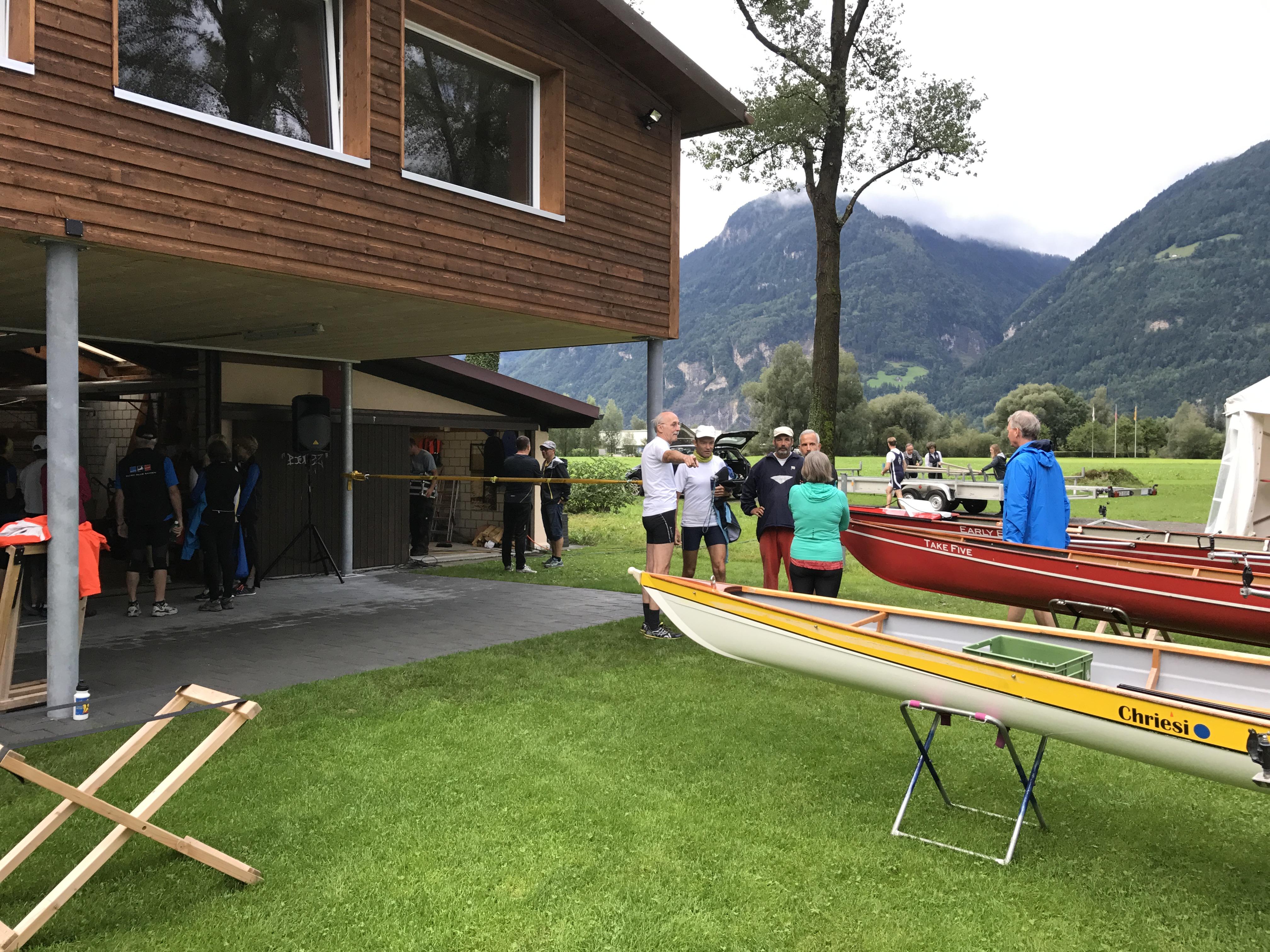Boote bereitstellen