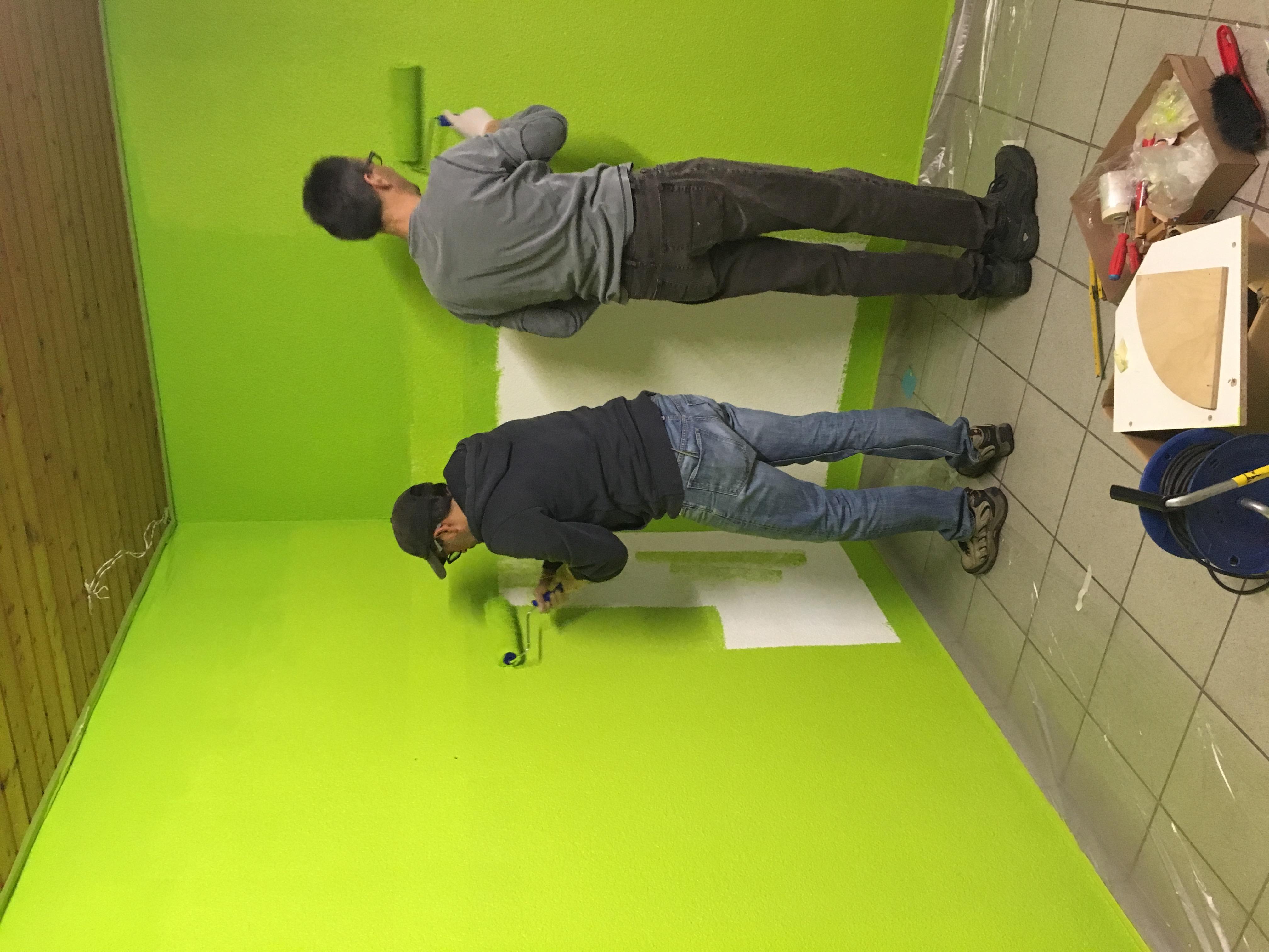 Farbe fürs Clubhaus