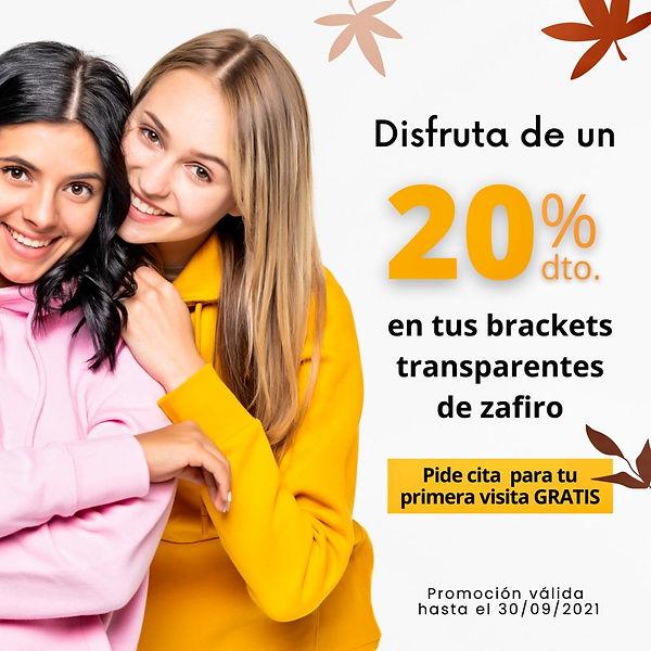 Brackets Zafiro RB dental