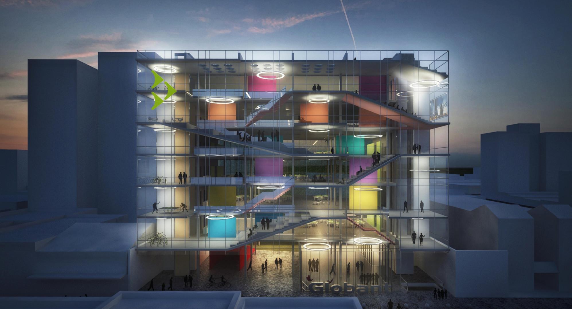 Internacional Globant Iconic Building (Concurso 2015)