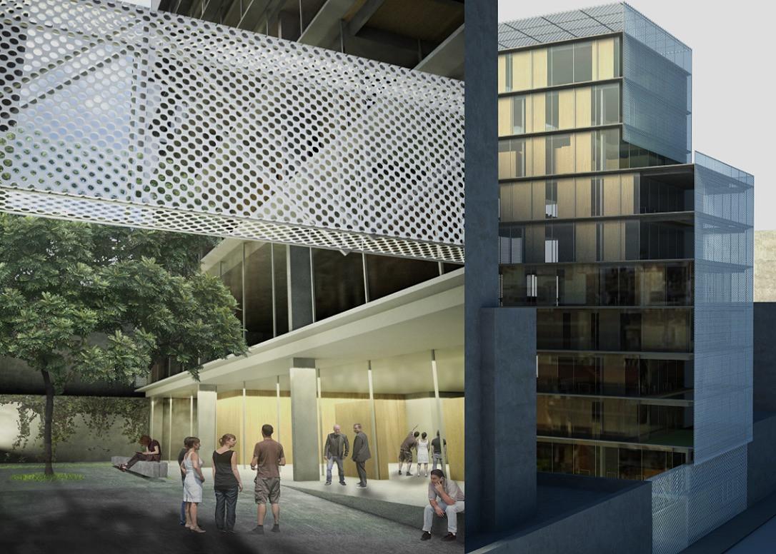 Edificio Anexo del Ministerio de Economía EAE (Concurso 2°Premio 2015)