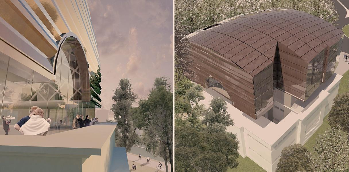 Museo Castagnino Rosario Propuesta 2 (Concurso 2017)
