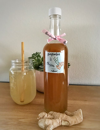 Sirop Gingembre & thym