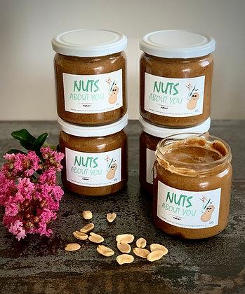 """Beurre de cacahuètes """"Nuts about you"""""""