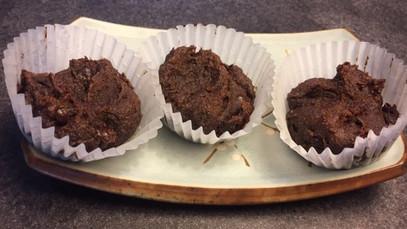 Banana-Sweetened Brownies
