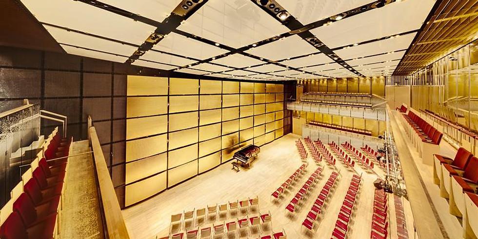Piano recital in Musikverein Vienna