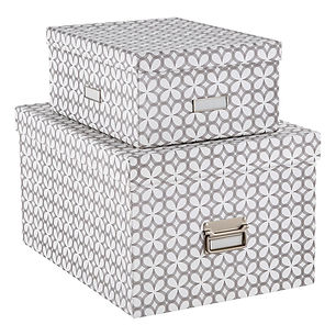 Bigso of Sweden Boxes