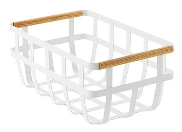 Tosca Basket with wood Handles
