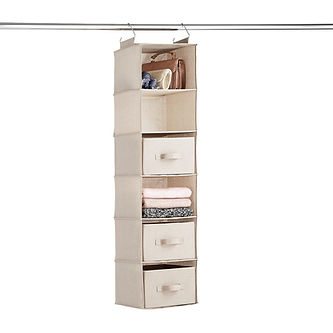 6-compartment-sweater-hanging organizer