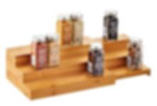 3 tier expandable spice shelf