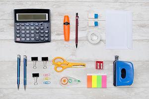 Organized Desk Supplies