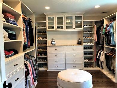 Oraganized Master Bedroom Closet